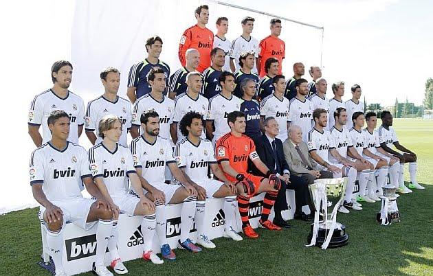 Plantilla y Foto oficial del Real Madrid 2012-2013