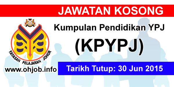 Jawatan Kerja Kosong Kumpulan Pendidikan YPJ (KPYPJ) logo www.ohjob.info jun 2015