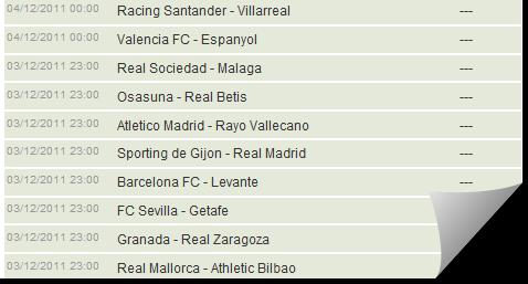 Jadwal LA Liga Spanyol Update Setiap Minggu