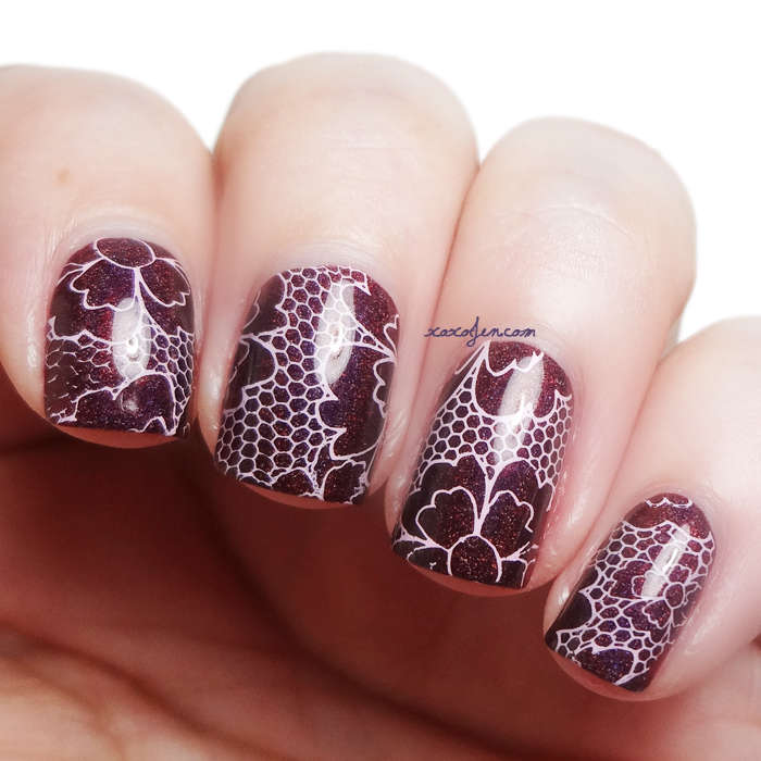 xoxoJen's swatch of Bear Pawlish In Love With Bad
