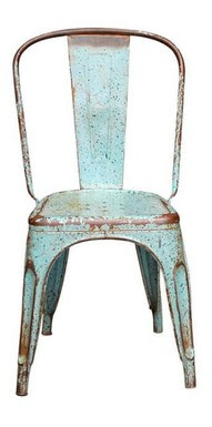 Vintage Retro/Reproduction metal Tolix dining chairs