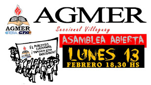 LUNES 13 FEB. ASAMBLEA ABIERTA EN SECCIONAL 18,30 HS.