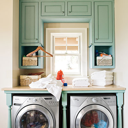 the long and short of it: Laundry Room Ideas for Small Spaces
