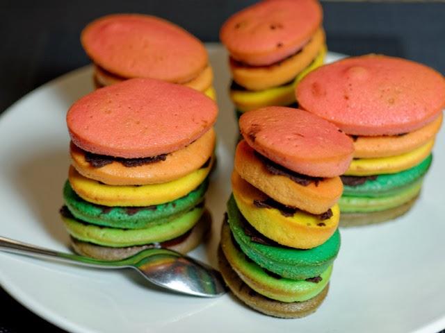 Rainbow XXL, gâteaux aux yaourts multicolores