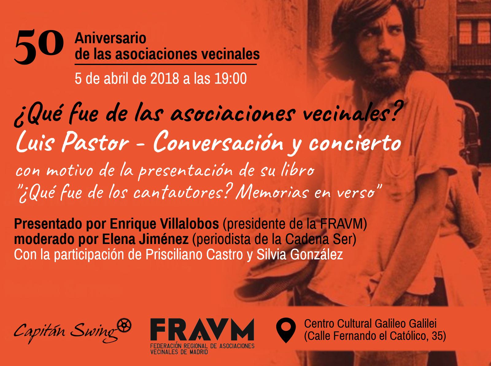 5 de abril 50º Aniversario de las AA VV