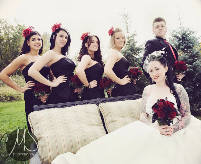 Mariah Manny 39s Rockabilly Wedding