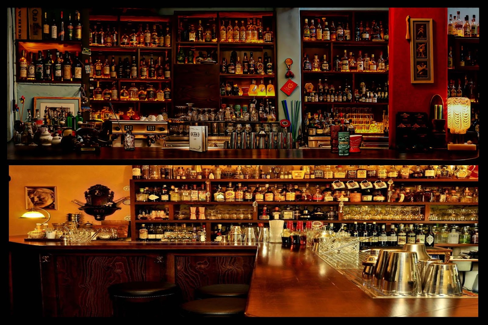 Los 10 mejores bares de ron del mundo - Barra de bar salon ...
