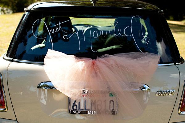 Top Les aventuriers de la vie: Décorer la voiture des mariés : simple  EO95