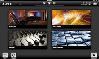XBMC for Android - Touched skin