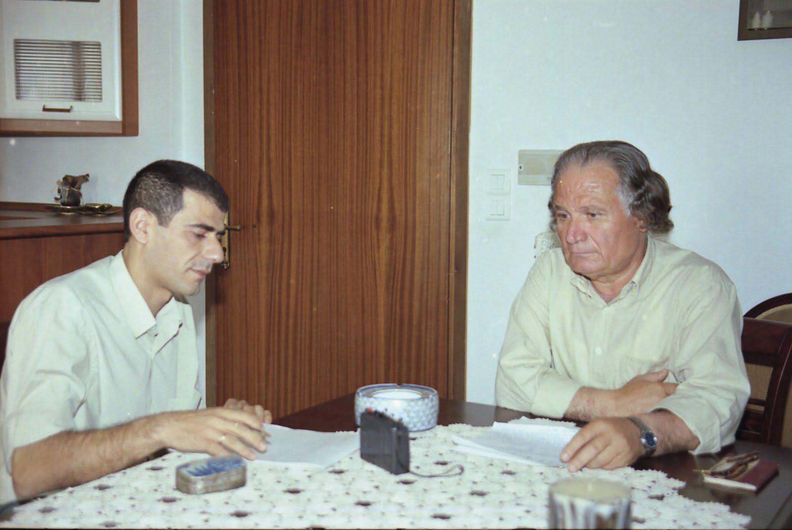 Με τον γεωπόνο και πρώην Ερευνητή Βαγγέλη Βαρδάκη