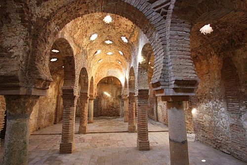 Baños Arabe De Granada:Baños árabes · Ronda · Arabics Baths ·