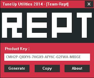 Keygen TuneUp Utilities 2014