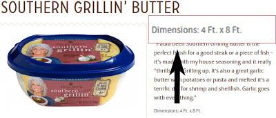 Paula Deen Butter Error