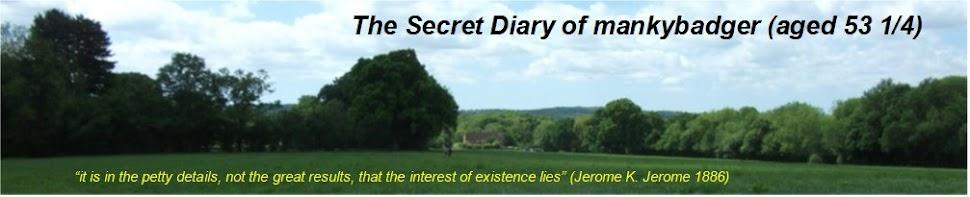 The Secret Diary of Manky Badger