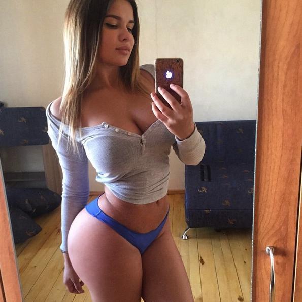 Anastasiya Kvitko é a rainha do Instagram