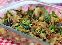 Salada de Berinjela Grelhada (vegana)