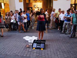Gracia Iglesias, Performance, Perfopoesía, contamíname, Cangrejo Pistolero