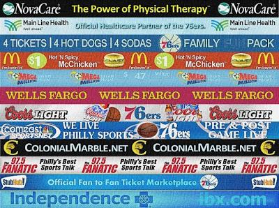 NBA 2K13 Philadelphia 76ers Sideline Sponsors Patch