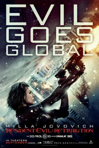 Resident Evil Retribution 2012 dvd