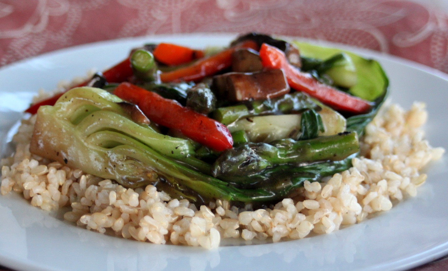 Hoopfinity's Happenings: Vegan Treats: Baby Bok Choy Stir Fry