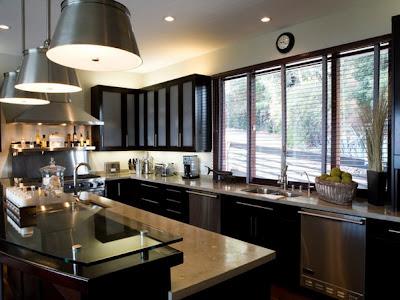 Elegant Kitchen Interior Design With Beautiful Interior Decoration And