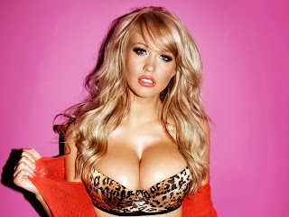 Sophie Reade Calendar - 2012 Topless big boobs