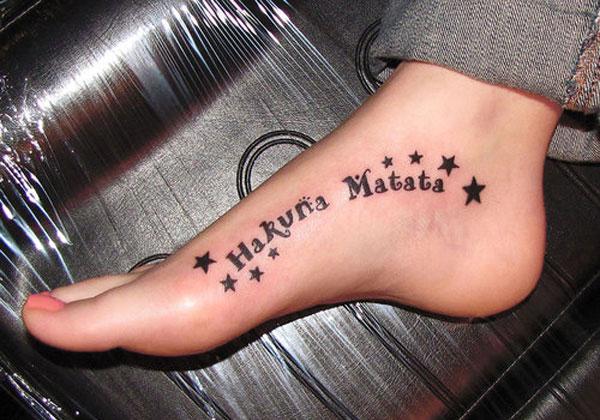 Hakuna matata tattoo - Tatouage hakuna matata ...