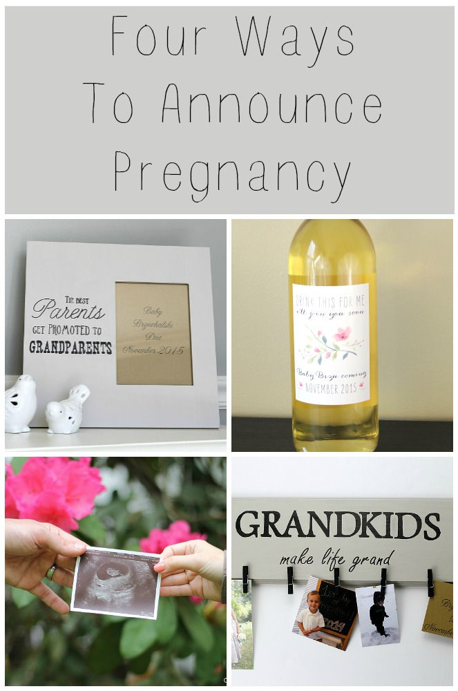 Four creative ways to announce your pregnancy