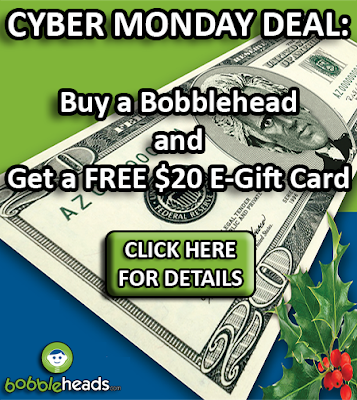 Cyber Monday Bobblehead Special