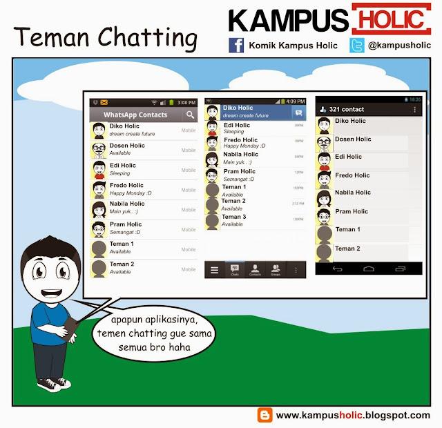 #329 Teman Chatting