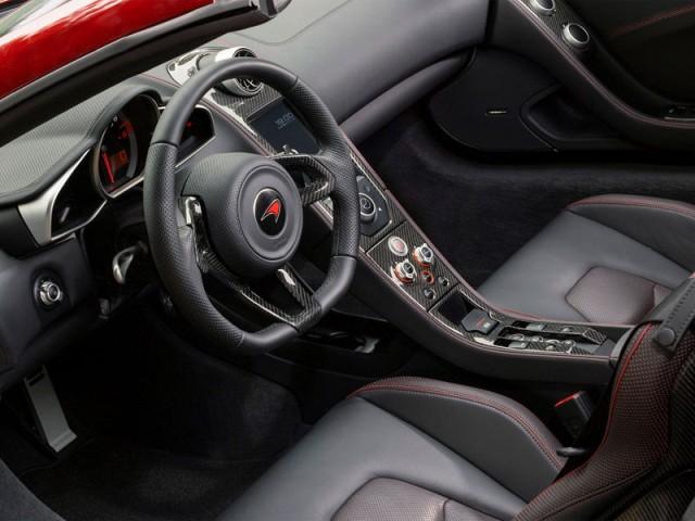 McLaren MP4-12C Spider 2013 interior