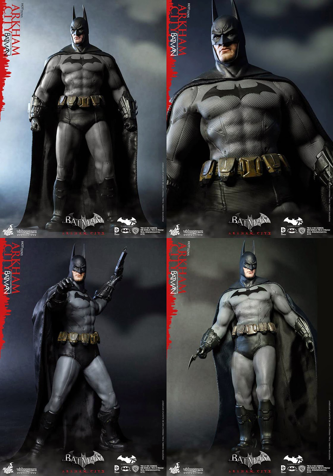 1/6 Arkham City: Batman by Hot Toys