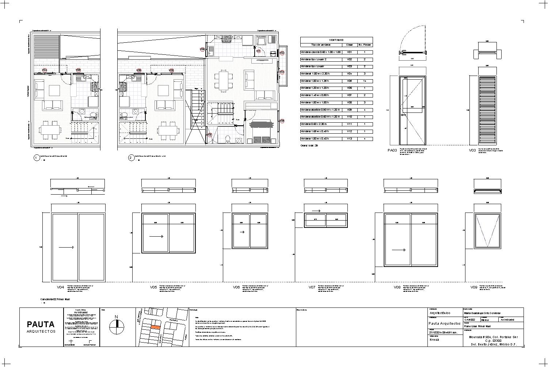 Arquitectura y dise o etapas de un proyecto en bim for Planos de carpinteria