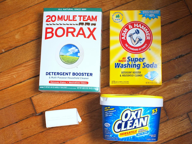 how to make your own laundry powder without borax