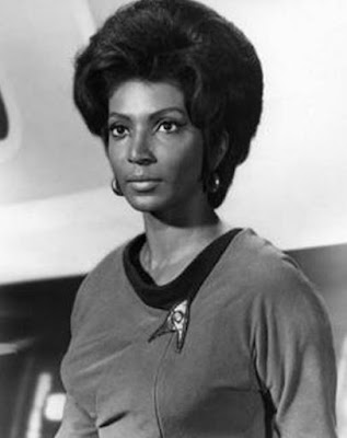 "Nichelle Nichols as ""Lt. Uhura"" from ""Star Trek"" the Original Series"