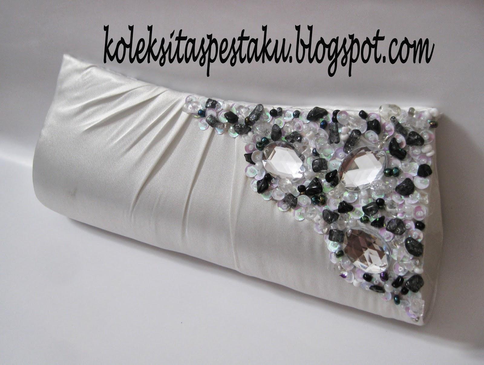 Tas Pesta Mewah Putih