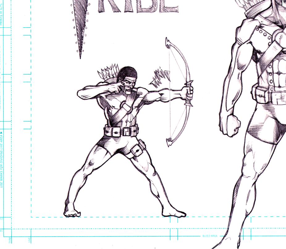 Kickstarter Comic Book Character