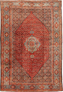 Tea And Carpets Bijar Rugs And The Art Of Persian Town