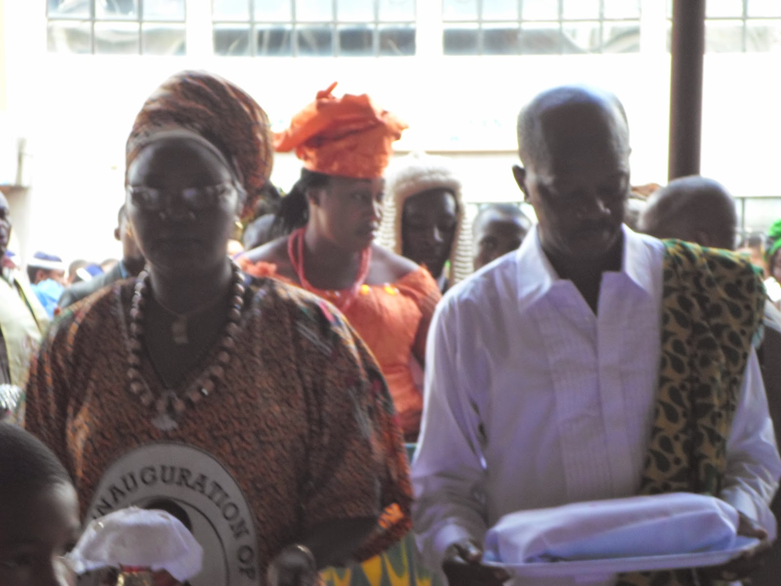 [Photo: Commissioner for women affairs, Hon. Dr. Mrs. Victoria Chikelu on Children's Day]