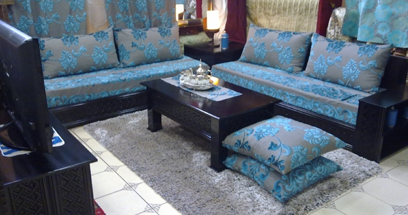 2015 for Salon marocain bleu roi