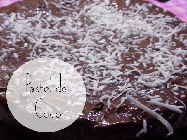 Receta Pastel de Coco - Feliz Navidad y 2o Cumple Blog