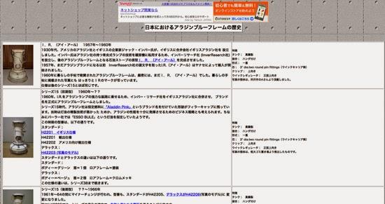 日本におけるアラジンブルーフレームの歴史-ストーブお助け笑会