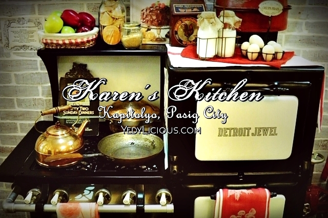 Karen's Kitchen Kapitolyo Petron Dasma Blog Review