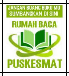 jangan buang bukumu