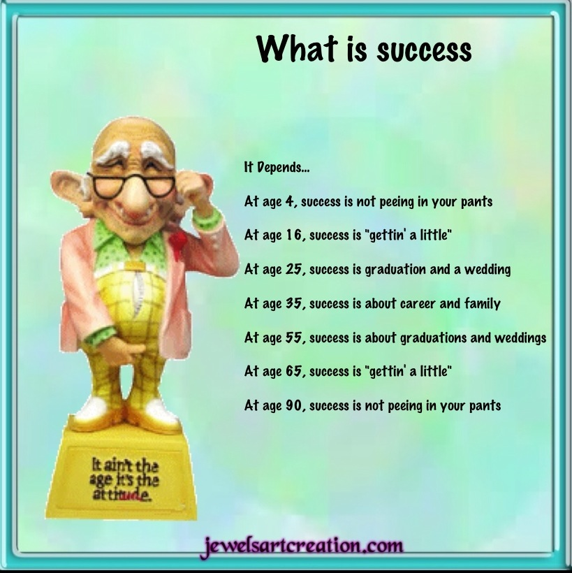 What is success ~ Jewels Art Creation