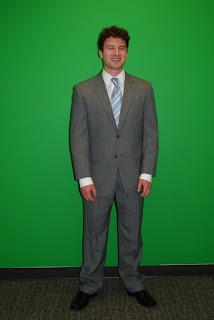 Boxy Oversized Mens Suit from Department Store