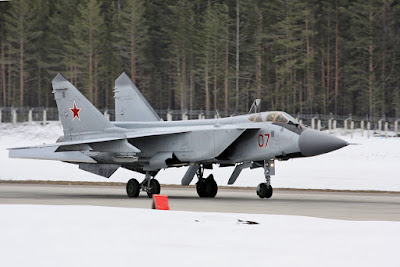 Mikoyan MiG-31 Fighter