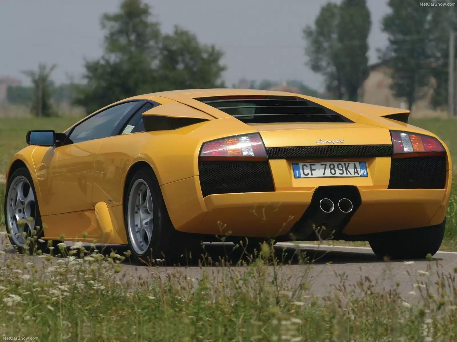 Hình ảnh siêu xe Lamborghini Murcielago 2002 & nội ngoại thất