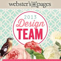 I'm a Design Team Member for Webster's Pages 2013 Team!