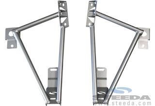 Steeda Mustang Frame Rail & Torque Box Brace